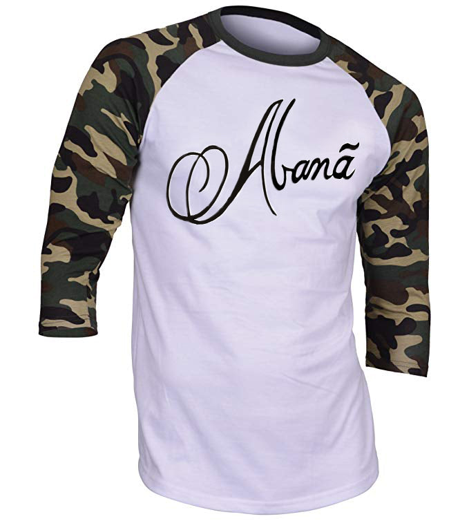 Abana Baseball Raglan T-Shirt (CLICK TO VIEW OTHER COLORS)