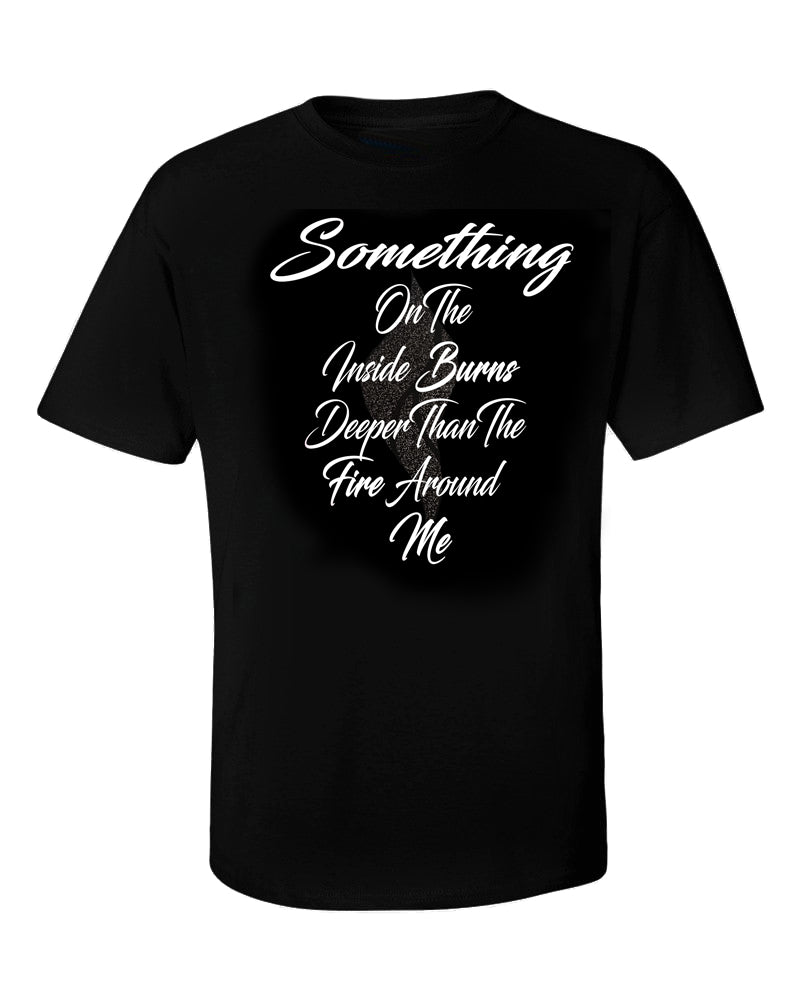 Abana Something On Inside Tee w/Blk Flame (CLICK TO VIEW OTHER COLORS)