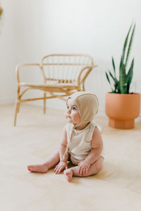 Knit Bonnet | Rose