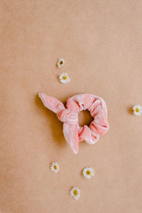 Scrunchie | Toddler and adult sizes | Peachy Pink