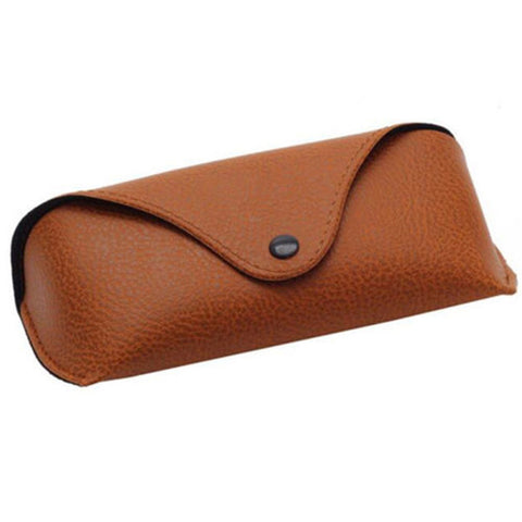 'Vogue' Steampunk Leather Sunglasses Case