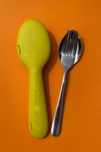 Hello Yellow + Fork & Spoon