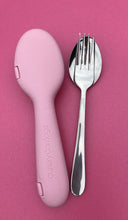 Recycled Dusty Pink + Fork & Spoon