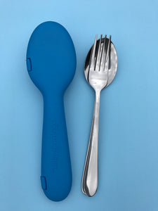 Sky Blue + Fork & Spoon