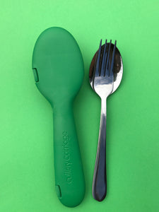 Recycled Keen Green + Fork & Spoon