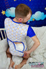 Star Prince Onesie with Back Flap