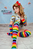 Rocking Rainbow Baby Onesie Full Set