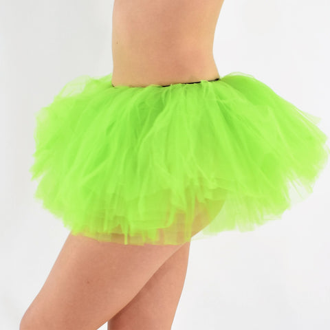 Short Adult Play Tutu - Light Green