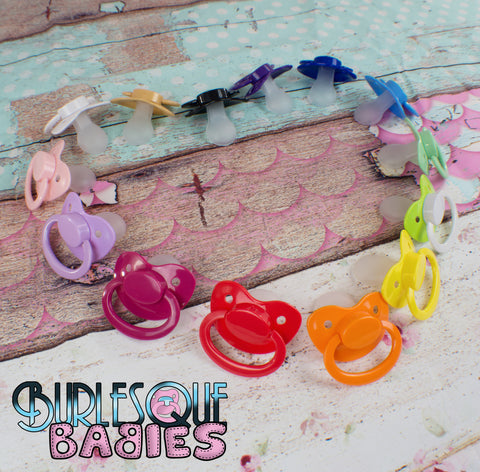Complete Adult Pacifier Set