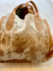 Elly Cow Hide Bag  - Tan