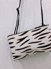 HALO STRIPE LEATHER BAG