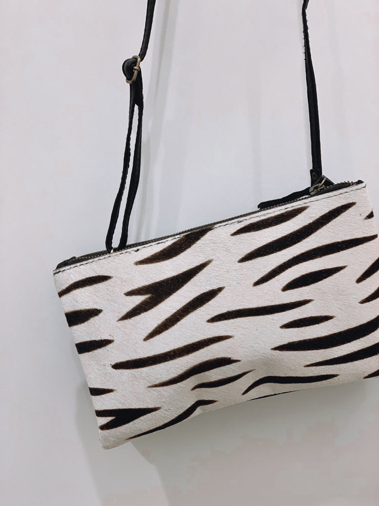 Gemma | STRIPE LEATHER BAG