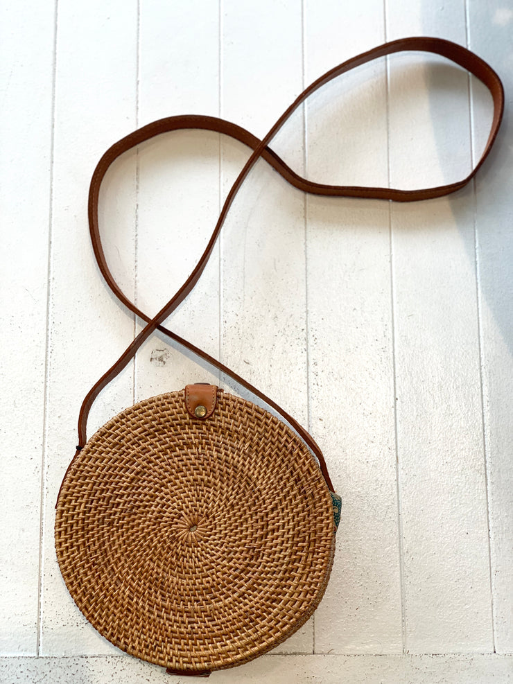 The Brown Rattan Bag