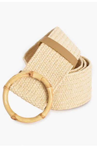 Myer | Rattan Belt In Natural