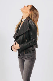 Sienna | All Leather Collar Jacket