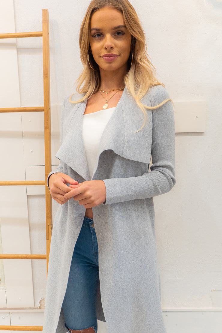 Georgie Cardi In Grey