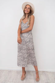 Mimi | Leopard Maxi With Side Split