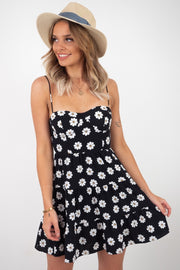 Daisy | Dress In Black And White Short Dress