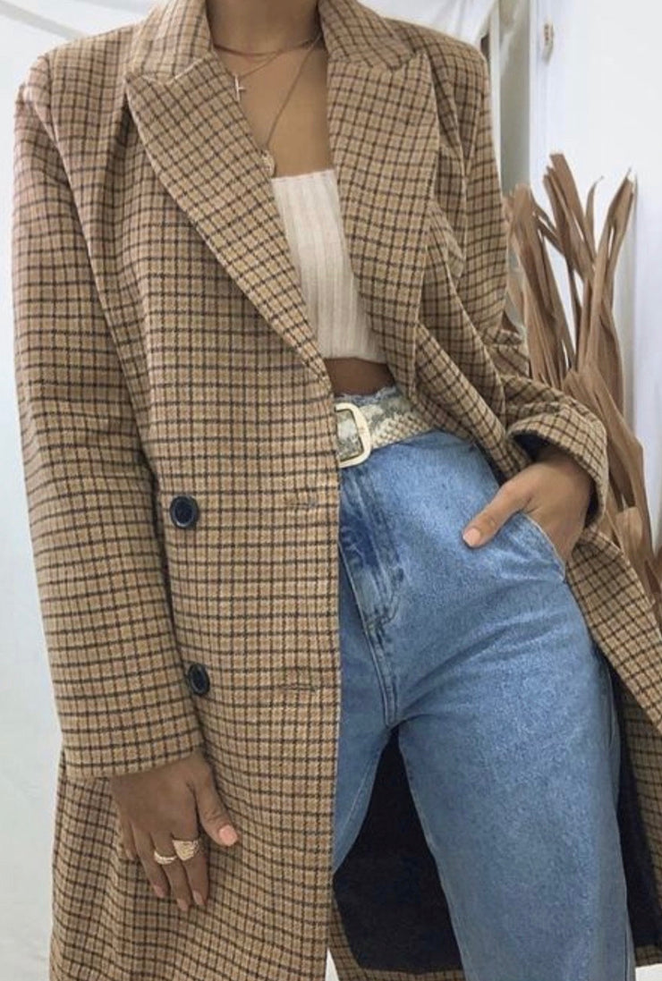 Leah Taupe Jacket