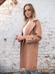 Mia Coat In Camel