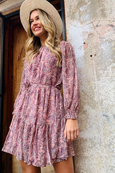 Halo & Hutch Daisy Paisley Dress