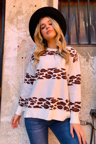 Yasmin Animal Knit