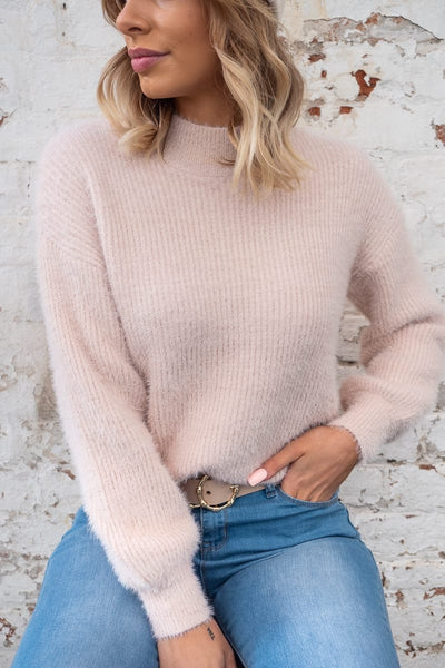 Olivia Blush Fury Jumper