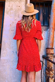 Luna | Dress in Red