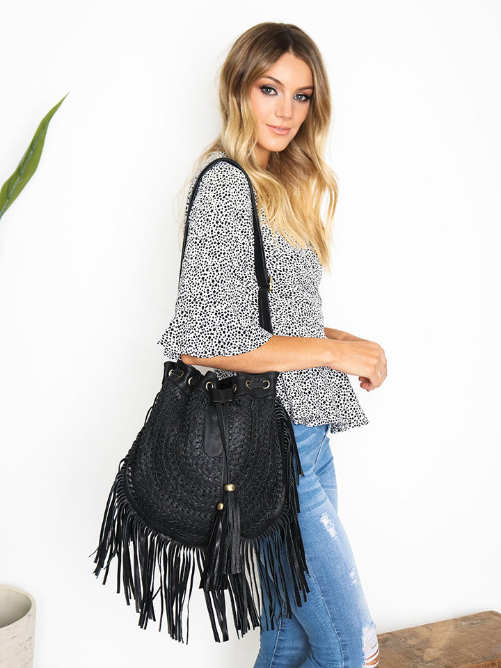 Mila Shoulder Leather Bag