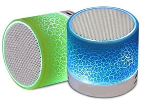 Lights Mini Bluetooth Portable Bass Speaker With TF Slot Stereo