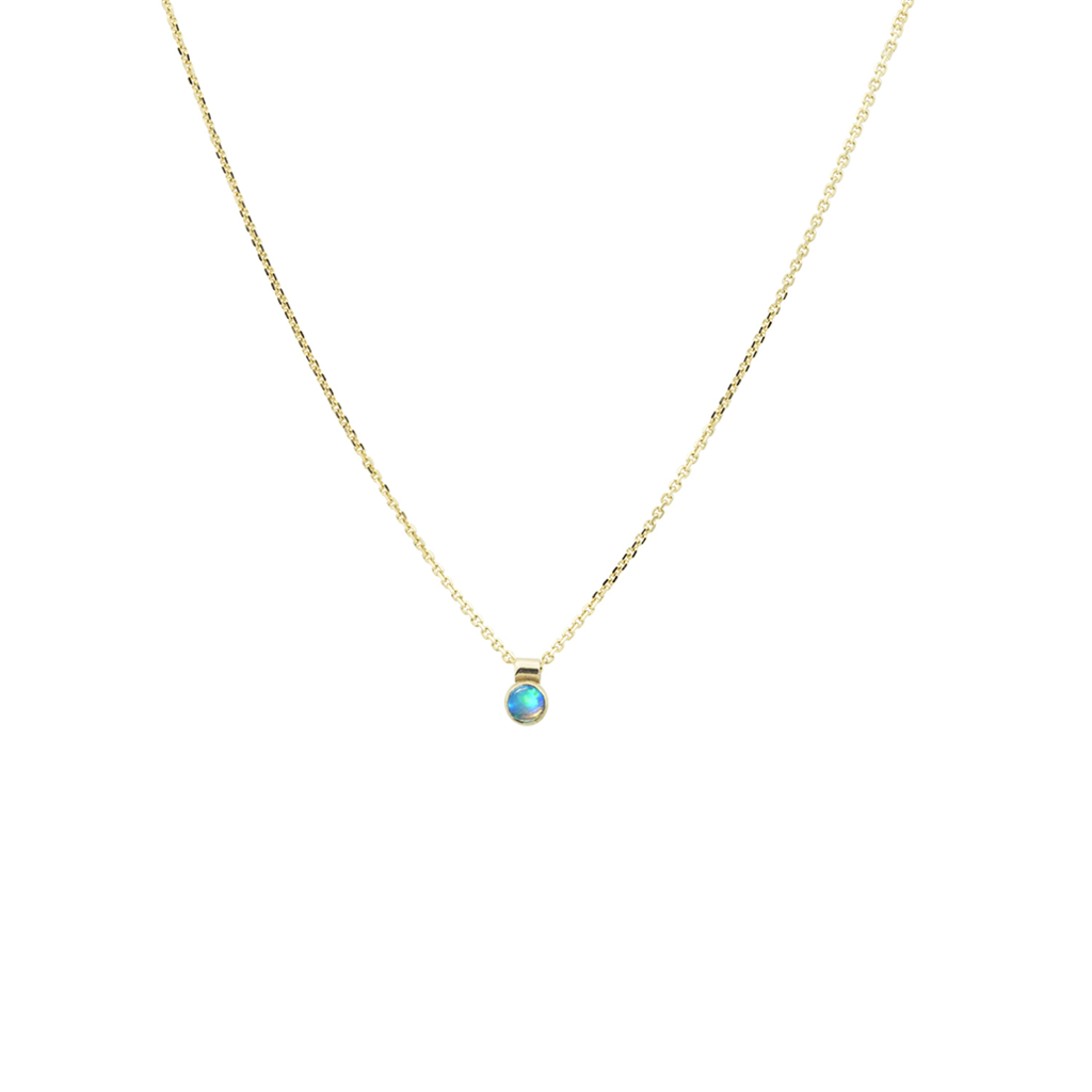 SOLO NECKLACE, OPAL