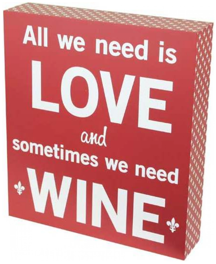 Red Sign Board (Love and Wine)