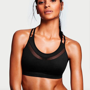 Mermaid Curve  Padded Sports bra Top