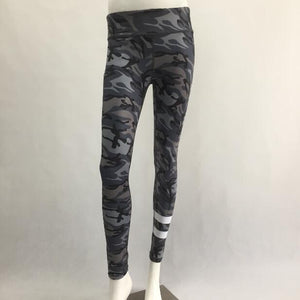 S-QVSIA New Camouflage printed sporting women leggings