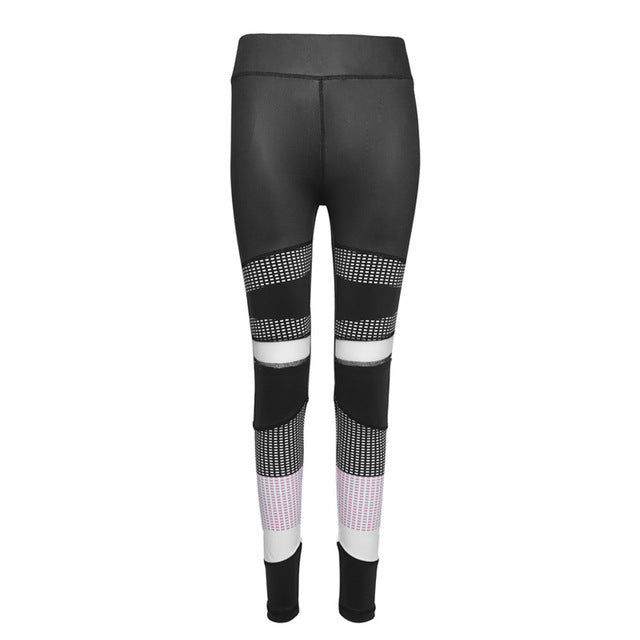 ZAFUL Fitness Sports Leggings Yoga Pants Women Spliced Running