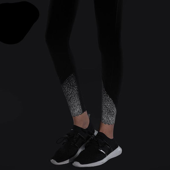 Syprem SWET Black reflective Leggings