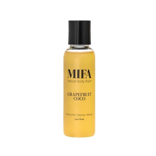 MIFA Original GRAPEFRUIT COCO Body Wash (2 oz/16 oz)