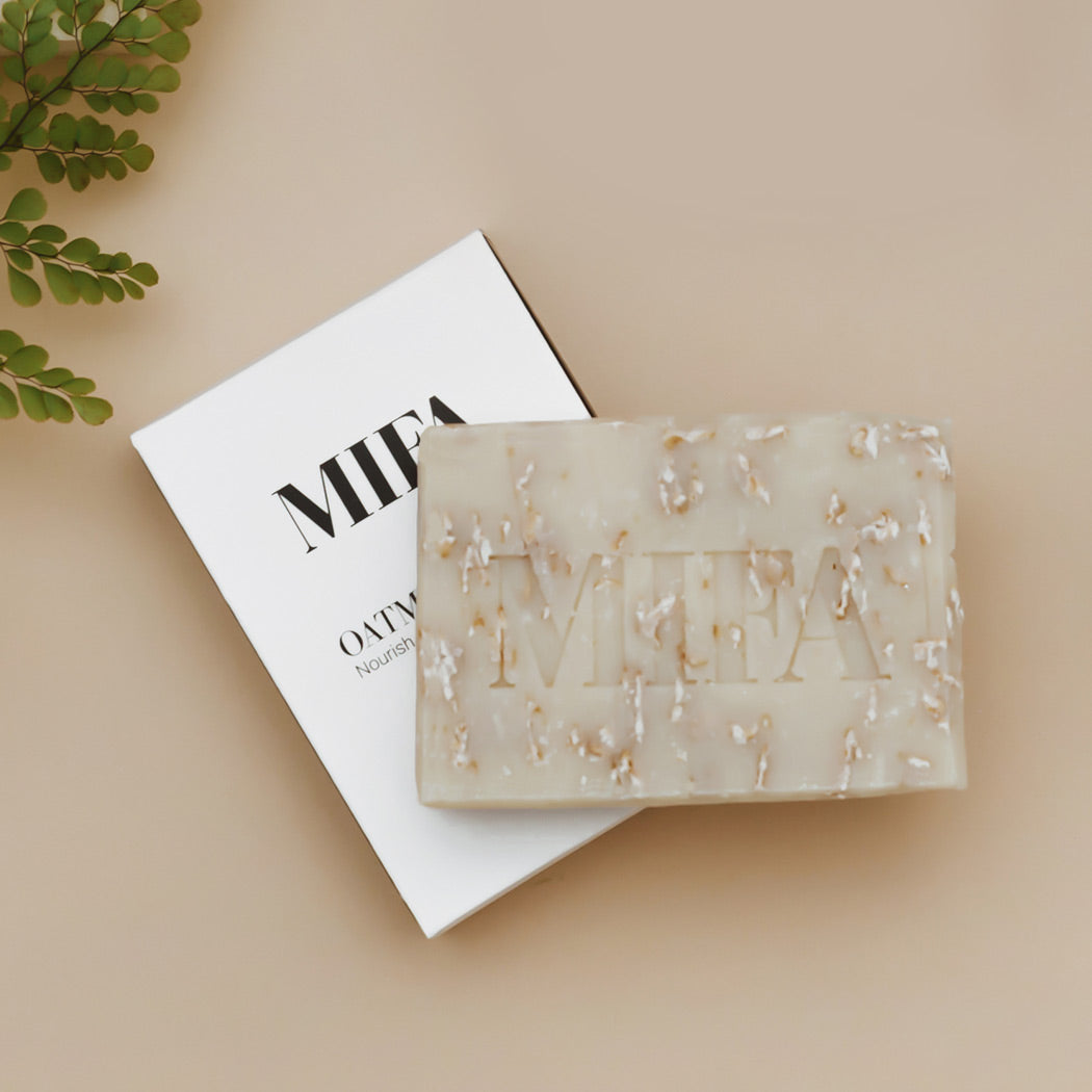 OATMEAL SHEA Olive Oil Soap Bar