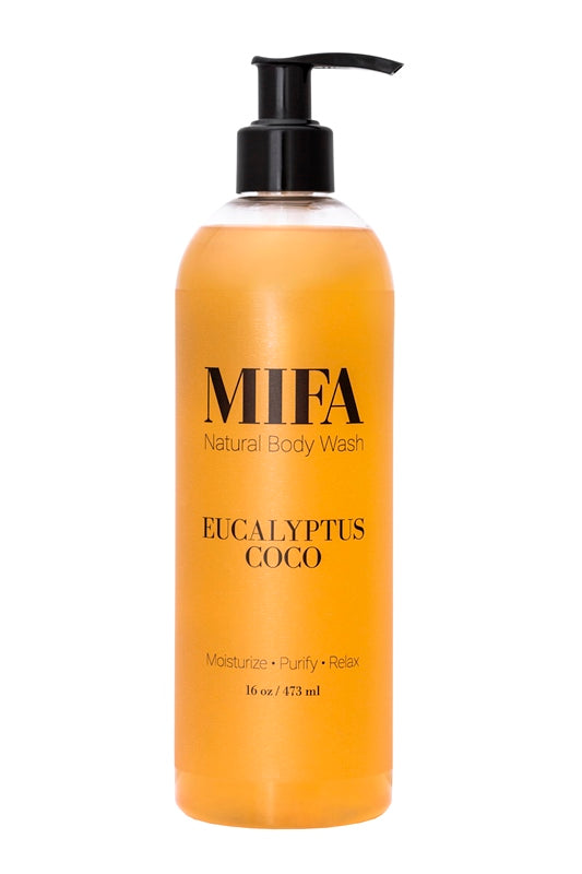 MIFA Original EUCALYPTUS COCO Body Wash (2 oz/16 oz)
