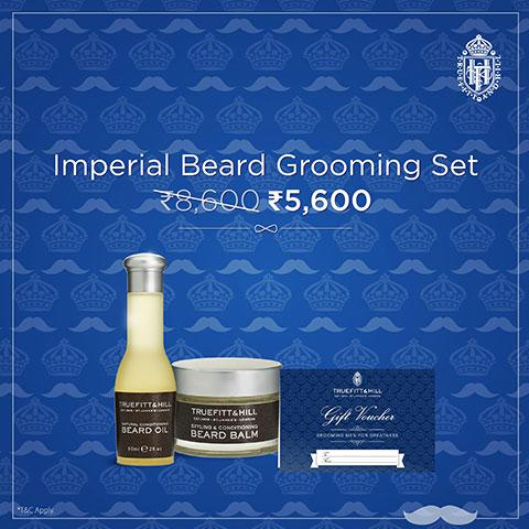 Imperial Beard Package - Truefitt & Hill Bangladesh