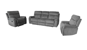 Berlin 3 Piece Recliner Suite
