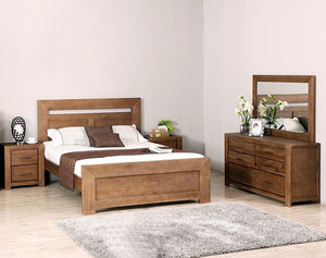 Paim 5 Piece King Dresser Bedroom Suite