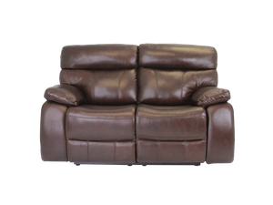 Mason 2 Seater Leather Recliner