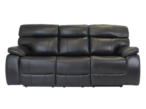 Mason 3 Seater Leather Recliner
