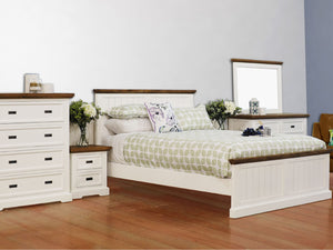Hamptons 6 Piece Queen Bedroom Suite