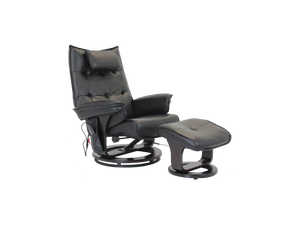 Viana Massage Chair with Ottoman