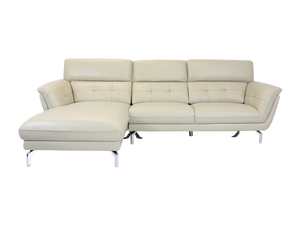 Taylor 3 Seater Leather Sofa with Chaise