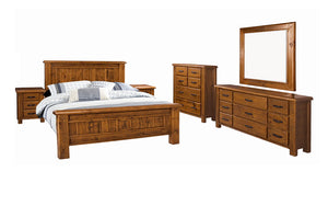 Farmhouse 6 Piece Queen Bedroom Suite