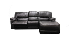 Sunbury 3 Seater with Chaise and Single Recliners