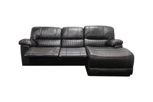 Sunbury 3 Seater with Chaise and Double Recliners